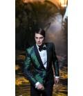Sacou Filip Cezar Green Flowers