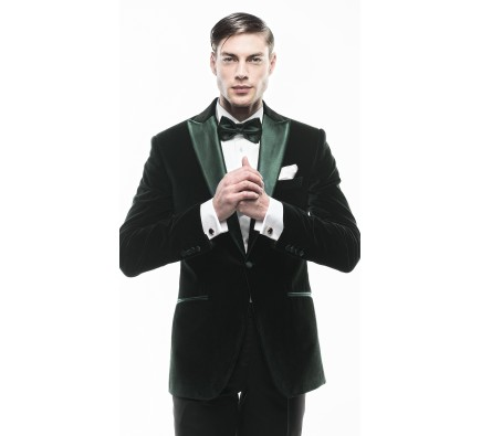 Sacou Filip Cezar Dark Green