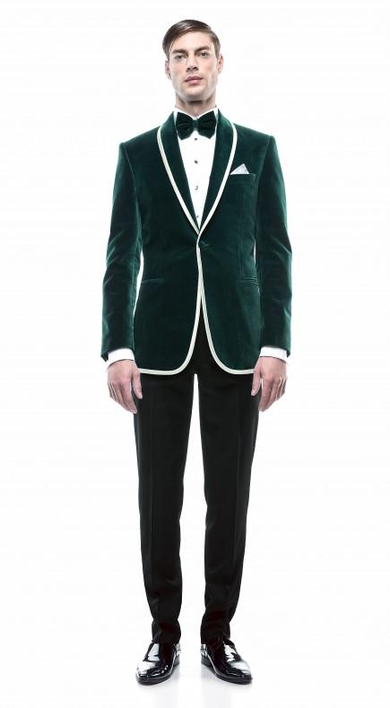 Filip Cezar New Green Suit