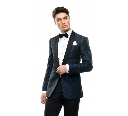 Sacou Filip Cezar Blue Roses