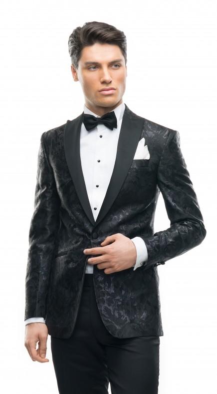 Costum de mire la comanda de culoare negru