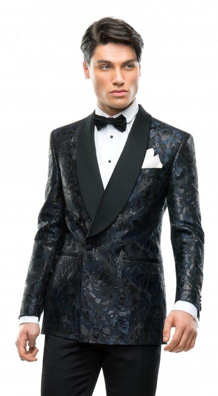 Filip Cezar Fancy Blue Jacket