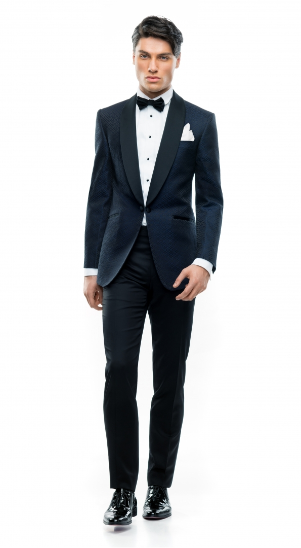 Filip Cezar Blue Diamonds Suit