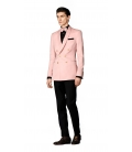 Filip Cezar Double Pink Suit