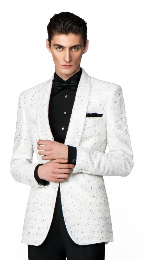 Filip Cezar White Treasure Jacket