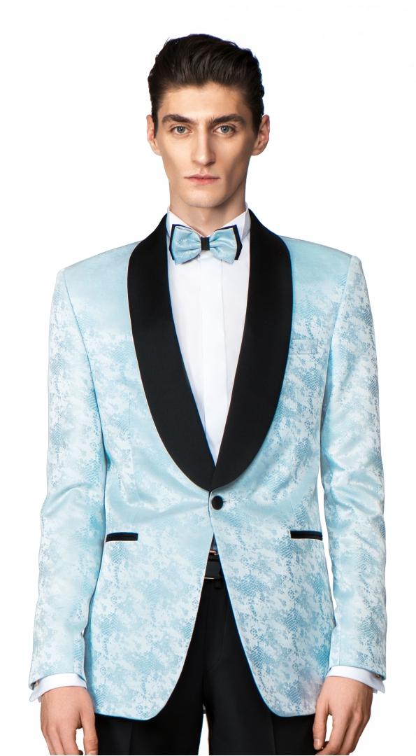 Filip Cezar Baby Blue Jacket