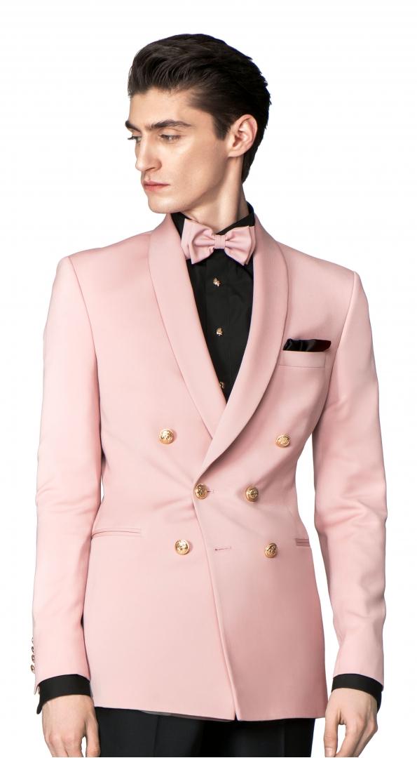 Filip Cezar Double Pink Jacket