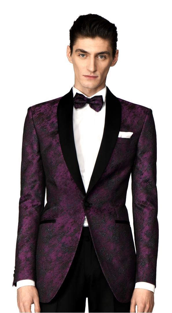 Filip Cezar Fancy Wine Jacket