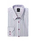 Filip Cezar Pink Lines Shirt