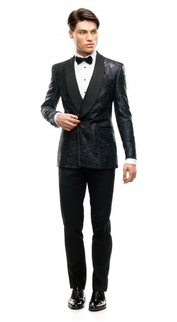 Filip Cezar Fancy Blue Suit