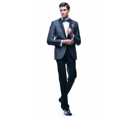 Cezar Dark Grey Plain Suit