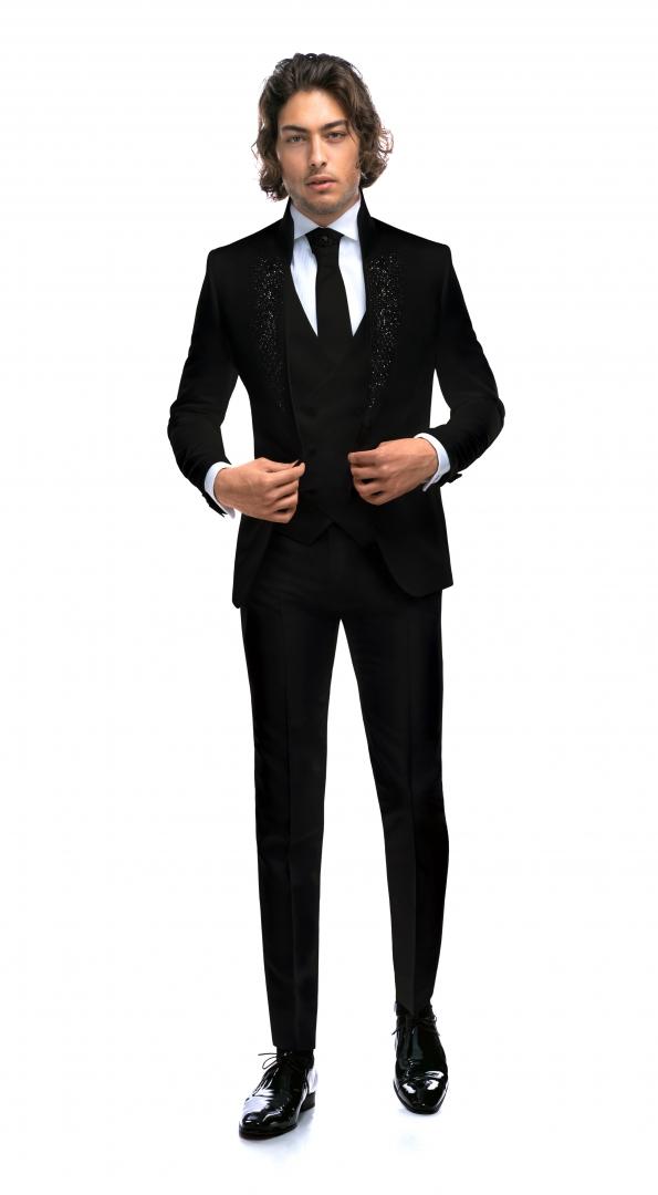 Costum Filip Cezar Exotic Black