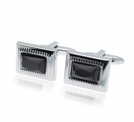 Cezar Black Diamond Cufflinks
