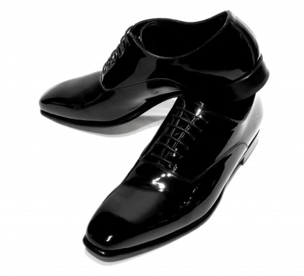 Pantofi Filip Cezar Glossy Black