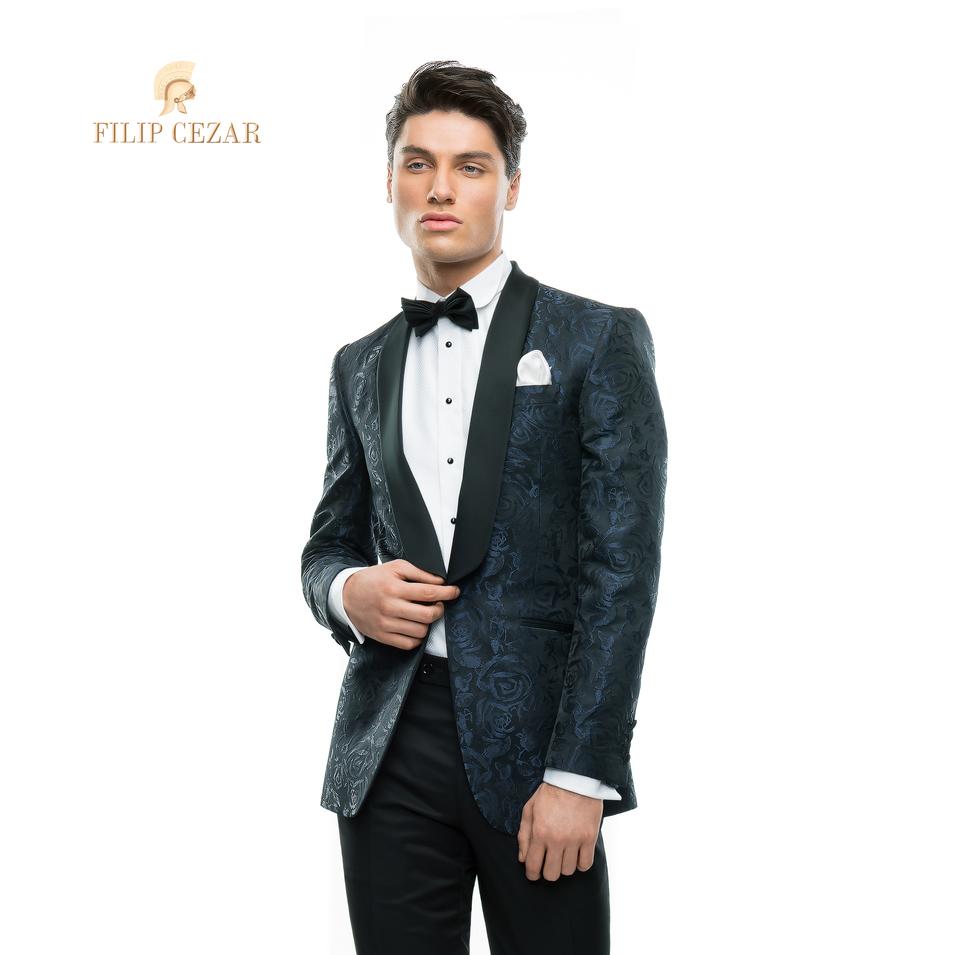 Costum de mire realizat la comanda Filip Cezar Aqua Roses