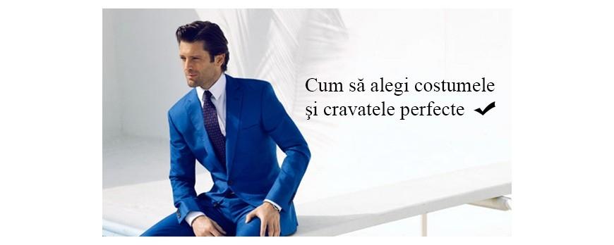 Cum sa alegi costumele si cravatele perfecte