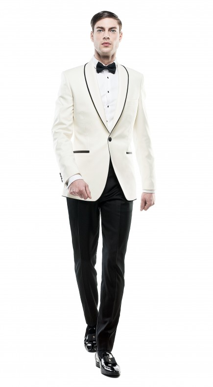Filip Cezar New Ivory Suit