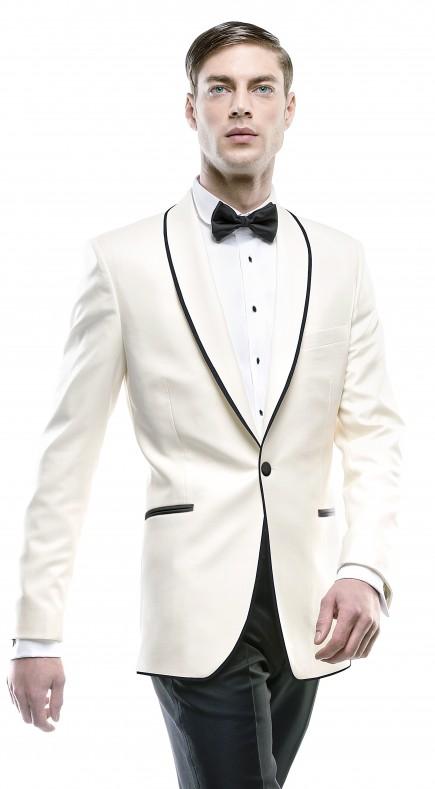 Filip Cezar New Ivory Jacket