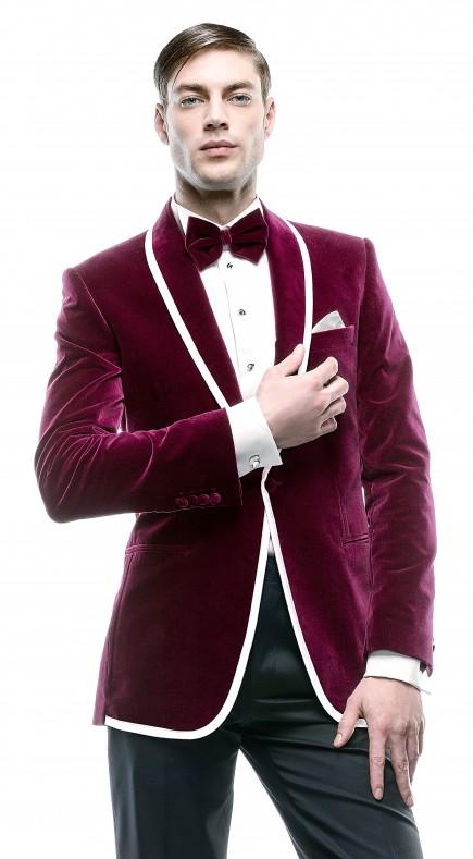Filip Cezar Magenta New Jacket