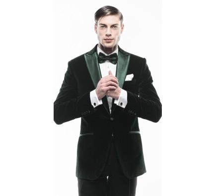 Sacou Filip Cezar Dark Green