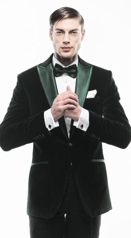 Filip Cezar Dark Green Jacket