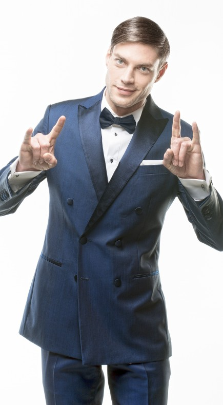 Filip Cezar Blue Fantasy Jacket