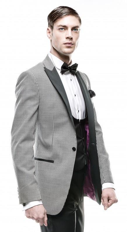 Filip Cezar Black and White Jacket