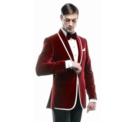 Filip Cezar Red Fantasy Jacket