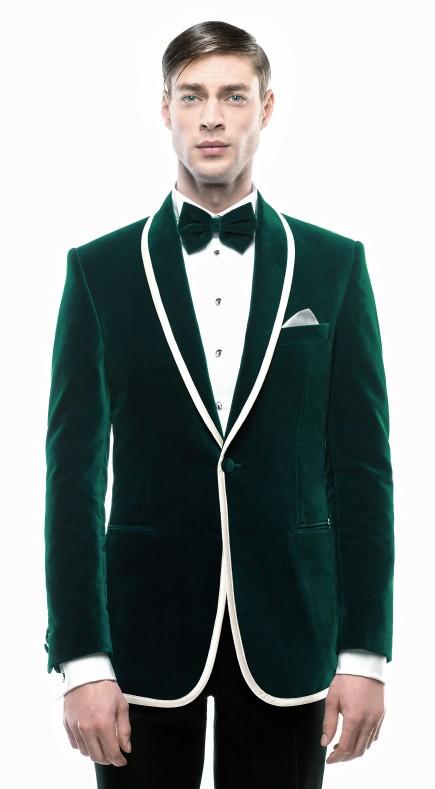 Filip Cezar New Green Jacket