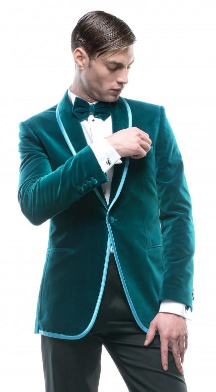 Filip Cezar Aquamarine Jacket