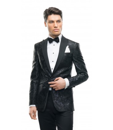 Sacou Filip Cezar Fancy Black