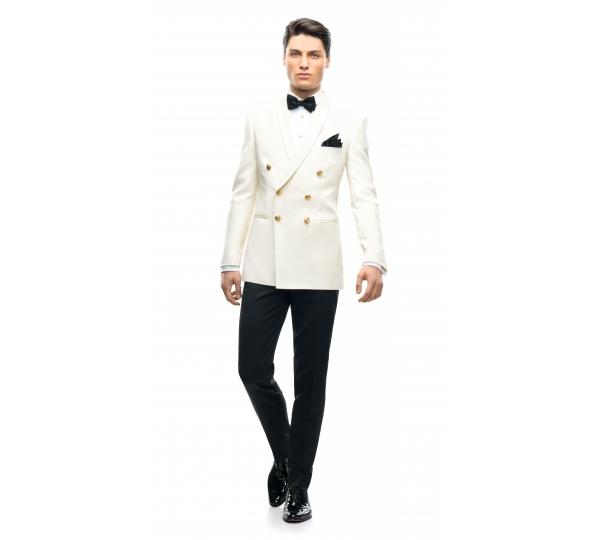 Filip Cezar Double Ivory Suit