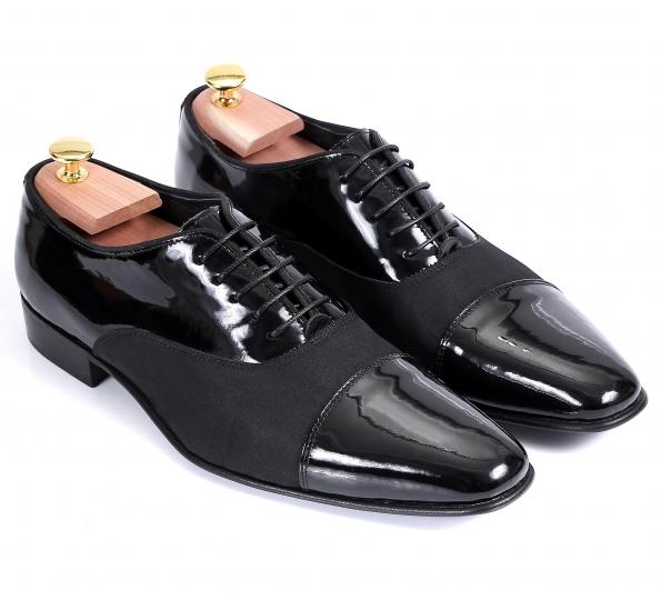 Pantofi Filip Cezar Glossy Grey