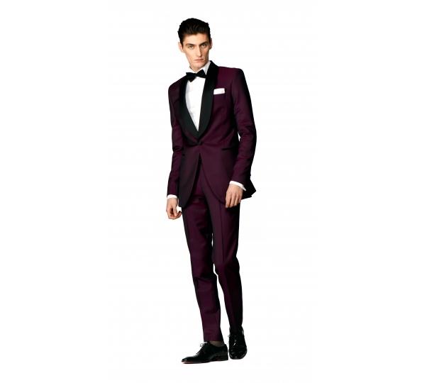 Filip Cezar Wine Suit