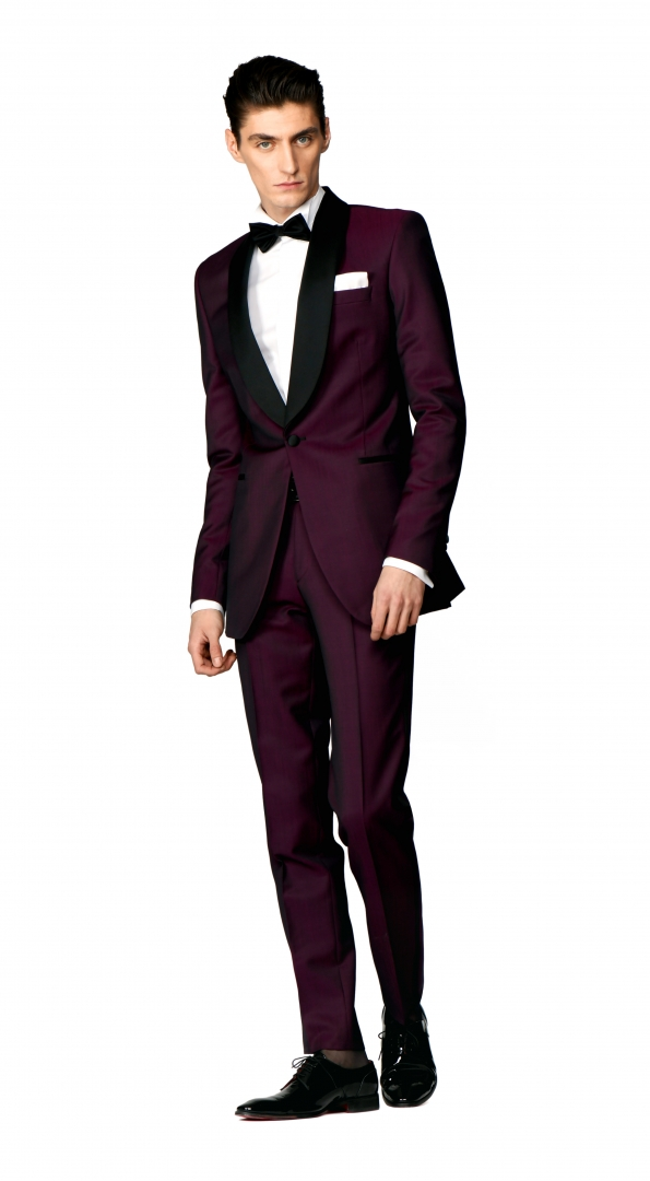 Filip Cezar Wine Suit