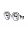 Filip Cezar Romantic Silver Cufflinks