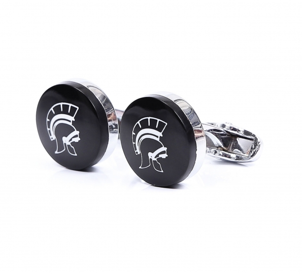 Filip Cezar Romantic Black Cufflinks