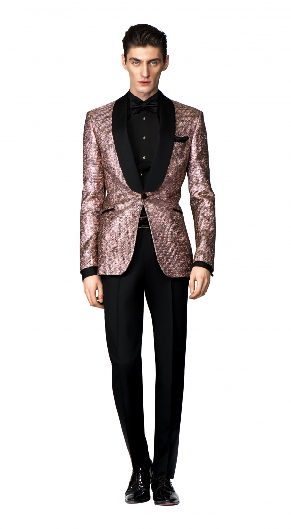 Filip Cezar Gold Treasure Suit