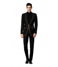 Filip Cezar Luxury Black Suit