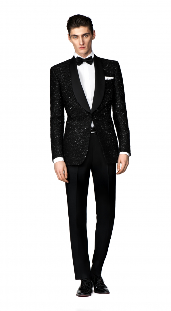 Filip Cezar Black Treasure Suit
