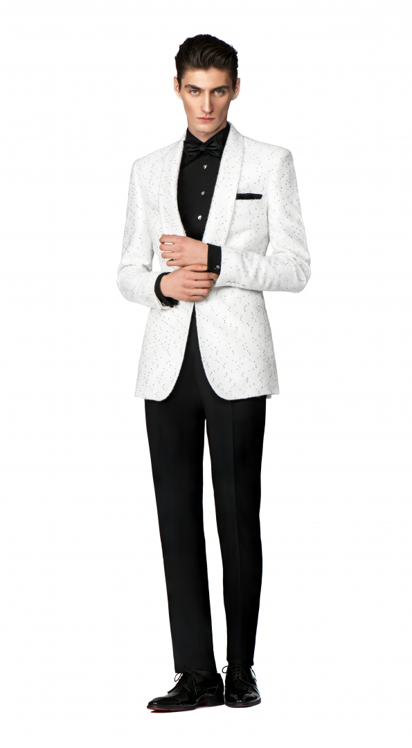 Filip Cezar White Treasure Suit
