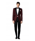 Costum Filip Cezar Burgundy