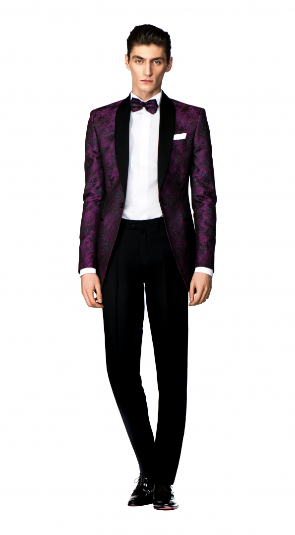 Filip Cezar Fancy Wine Suit