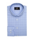 Camasa Filip Cezar Blue Checked