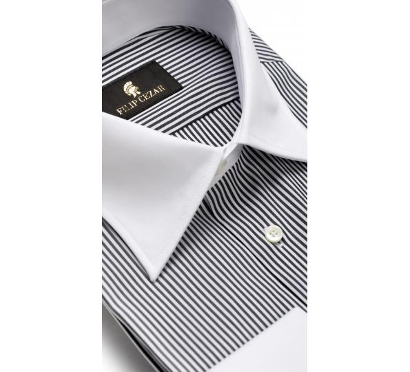 Filip Cezar Gray Lines Shirt
