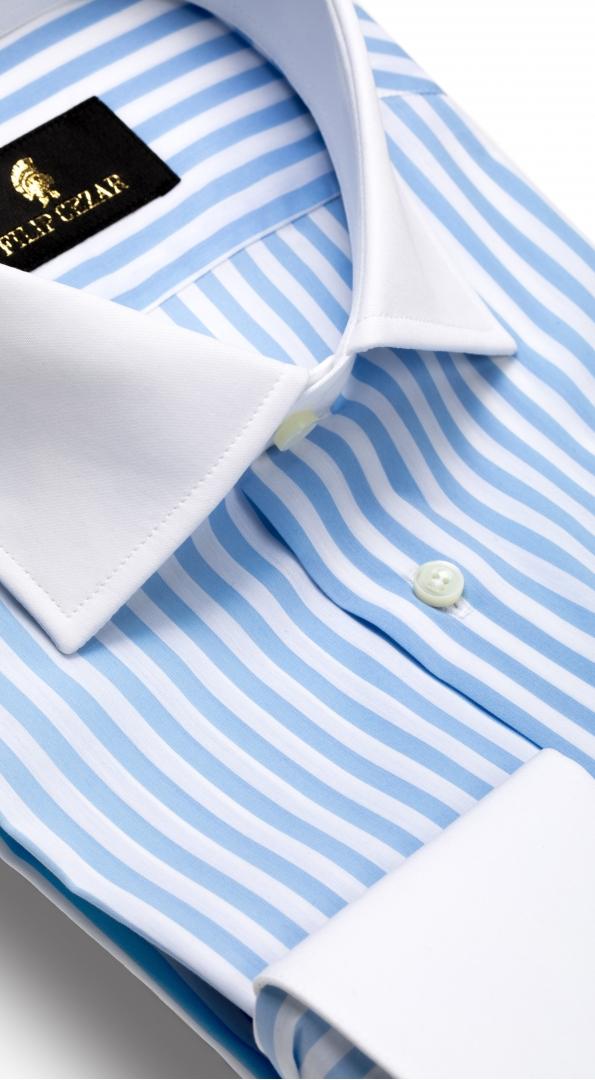 Filip Cezar Blue Lines Shirt