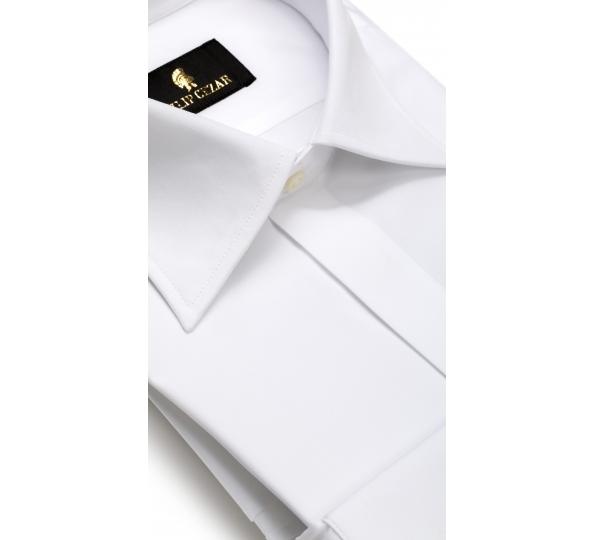 Filip Cezar Red Solid White Shirt