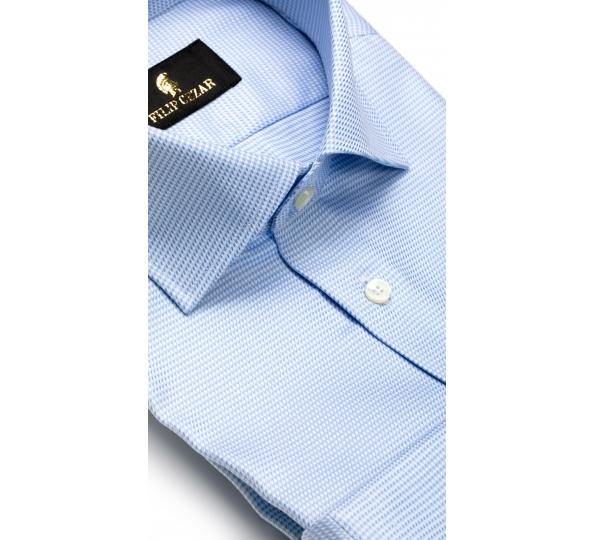 Filip Cezar Blue Dots Shirt