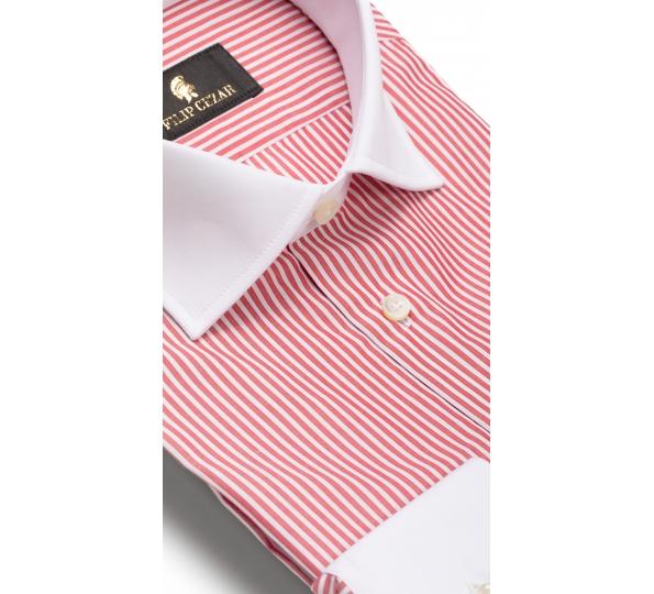 Filip Cezar Red Lines Shirt