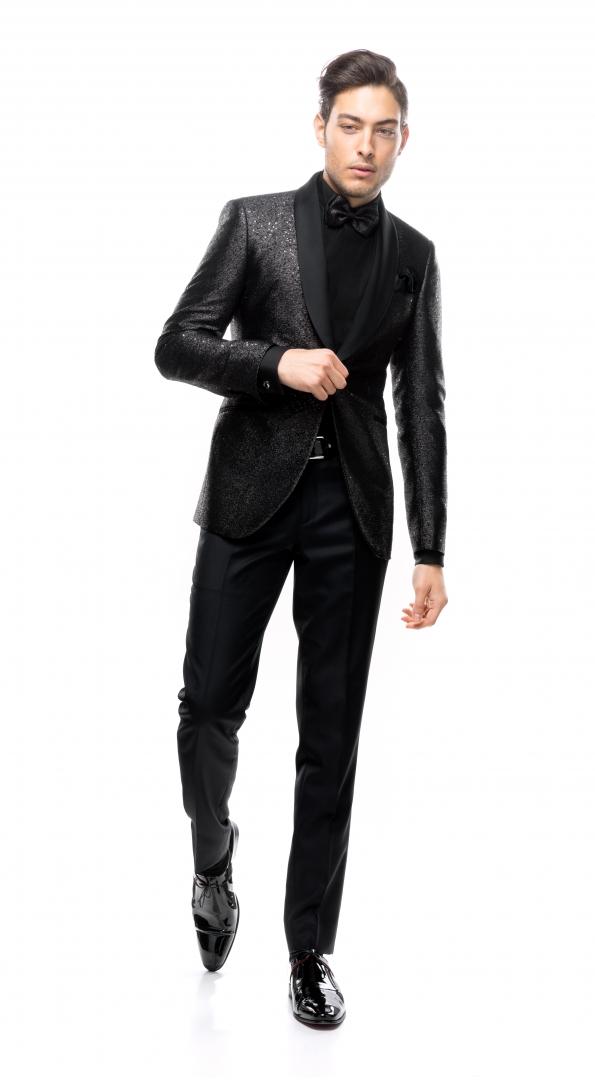Filip Cezar Sapphire Suit